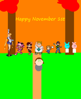 November 1st by kasden95