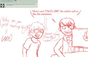 Ask - BilDip (10) - Dipper Goes to Taco Bell by Anime-Greek
