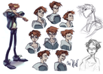 The Kid - Expression Sheet by kimchii