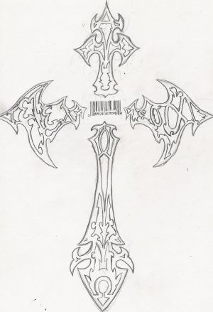 My Cross Tattoo Design My tattoo