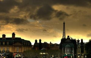 Paris at Epcot, Disney World by DFWHDR