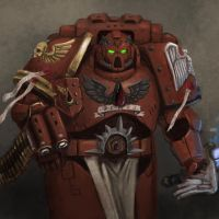 blood angels captain by FonteArt