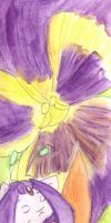 Flower Series - Pansy by Tillette