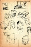 Airport Sketches 08' by tcw295