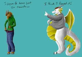 20lb exchange by WererStritchy