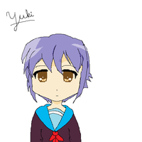 Yuki Nagato by EpicDreamer2011