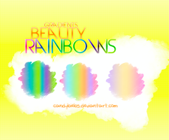 Excluvise Gradients Rainbows by CandyBiebs