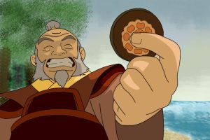 Iroh and the Lotus Tile by firebender-aaa