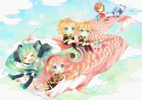 vocaloid group 2 by lavaria-chan