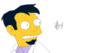 The Simpsons - Dr Nick by LamePie