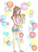 You color my world by Annabeth590
