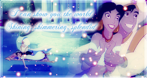 Jasmine and Aladdin by Alison86