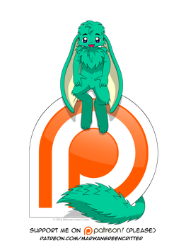 Support me on Patreon by MarwanGreenCritter