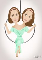 American Horror Story Freak Show - Bette and Dot by Ludingirra
