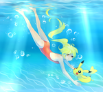Diving by Joltik92