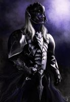 Drow warrior by AiDerathar