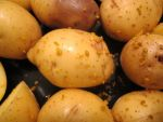 Golden Potatoes and Ugli Fruit Zest by Windthin