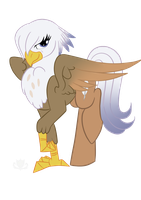 Silvia Swoop [Genderswap Silver Quill] by StagetechyArt