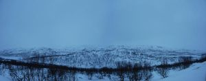 Norway Winter background by LimeStock