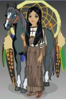 Female Native American Avatar by neko-of-lotherian