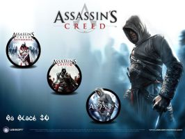 Assassins Creed  All Icons by BLACK-IV