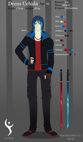 Decus Uchida -Reference- by SouOrtiz