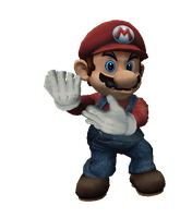 Mario pose by infersaime