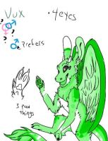 Vux The Angel Dragon by softcaptor