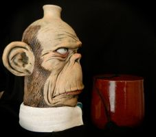 Office Ape without Fez by thebigduluth
