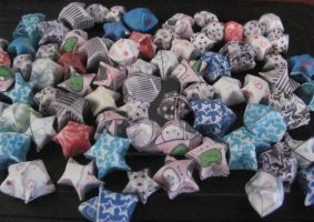 Origami Stars by SinisterSeduction