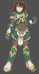 Siera Armor Concept by Genisay