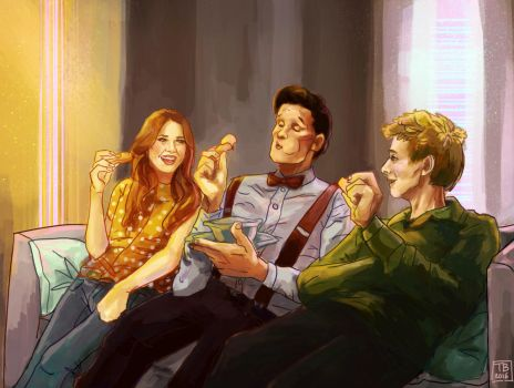 The Power Of Three - Doctor who by TB00