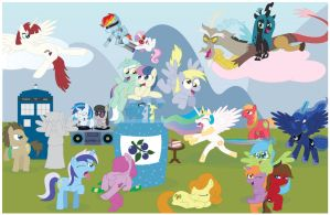 My Little Pony: Friendship is Magic by T-3000