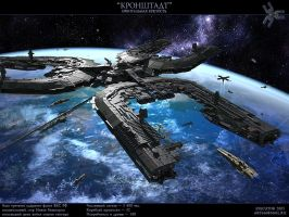 Orbital fortress by SmirnovArtem