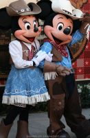 Minnie and Mickey: Country by DisneyLizzi