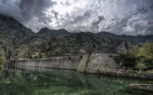 Kotor fortress by An-Drake