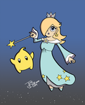 Rosalina - The Original Guardian of the Galaxy! by JesseDuRona