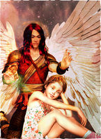 Saint Raphael, Healing Angel by Desertsilver22