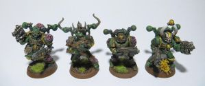 Plague Marines [6] by MetalOxide-Creations
