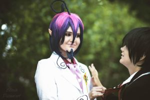 How about a little playtime..? (MephistoxRin AnE) by Ellieeh