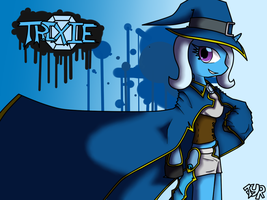 Battle Mage Trixie wallaper by TheYoungReaper
