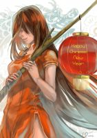 Happy chinese new year 2012 by Eachy-Peachy