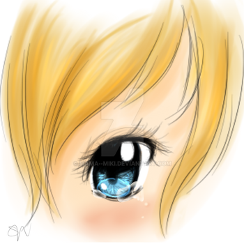 Eye Doodle by Mama--Miki