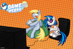 Commission: And We're the Game Derps! by serenamidori