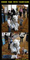 Kiddie Time With Tauntaun by Zhon