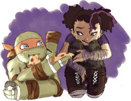 Mikey and Angel by ActionKiddy