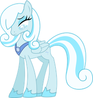 MLP Snowdrop by Ispincharles