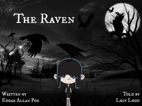 'The Raven' told by Lucy Loud by Jack-Robertson-2014