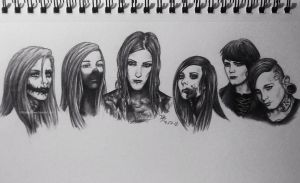 Motionless In White by OhRealllyyNoww