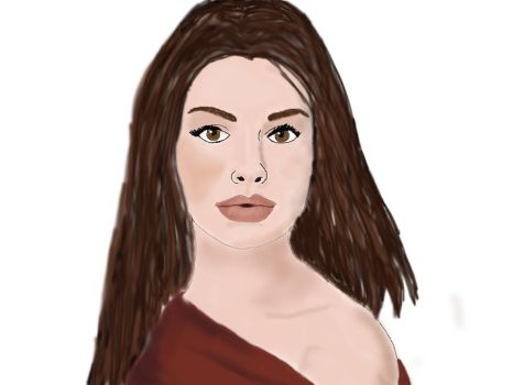 Anne Hathaway by SybilVane38A